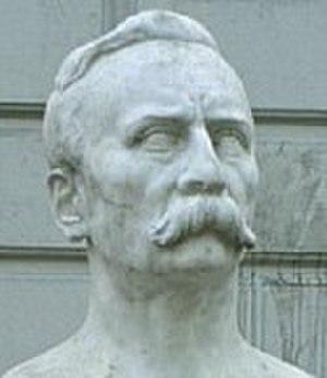 Carlos Pellegrini - Bust by the sculptor Erminio Blotta