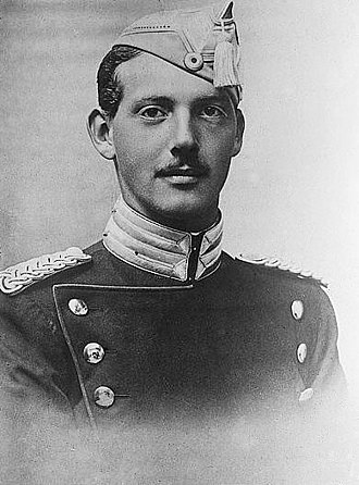 Prince Aage, Count of Rosenborg - Prince Aage photographed in 1912.