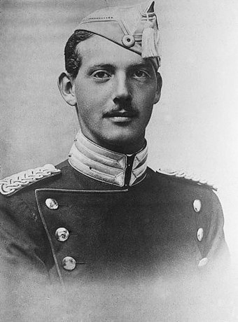 Legion Officer Lieutenant-colonel Prince Count Aage of Rosenborg (1887-1940). Prince Aage of Denmark.jpg