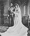 Prince Gustaf Adolf of Sweden and Princess Margaret of Connaught on their wedding day.jpg