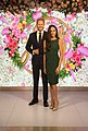 Prince Harry and Meghan Markle at Madame Tussauds London 2019-07-17.jpg