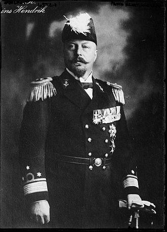 Duke Henry of Mecklenburg-Schwerin - Prince Henry in 1915