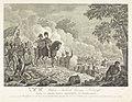 Prins van Oranje tijdens de slag bij Quatre-Bras, 1815 Z.K.H. Willem Frederik George Lodewijk, Prins van Oranje-Nassau, Kroonprins der Nederlanden, in den aanval der Franschen, den 16den Junij 1815, by Quatre-Bras omsin, RP-P-OB-87.195.jpg