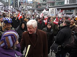 Protests against prorogation in Toronto (6)