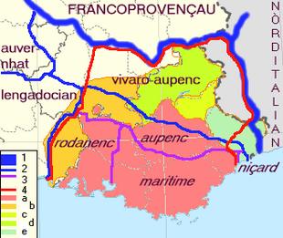Dialetto Provenzale Wikipedia