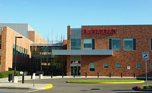 Emergency room at the Providence Newberg Medic...