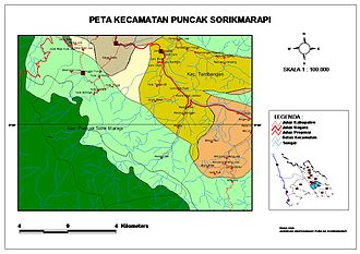 Mandailing Natal Regency - Subdistric Sorikmarapi Highland with Batang Gadis National Park