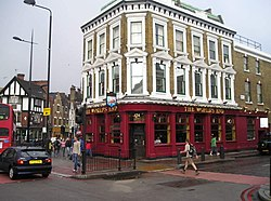 The World's End in Camden Town