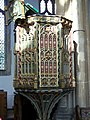 Pulpit, St Edmund's Church, Southwold - geograph.org.uk - 781649.jpg