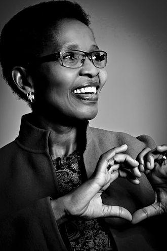 Psychologist - South African psychologist Pumla Gobodo-Madikizela.