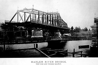 IRT Ninth Avenue Line - The Putnam Bridge took the extended and regauged line over the Harlem River