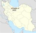 Qazvin y su aldea Jaldin.png