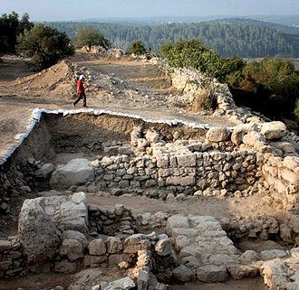 Khirbet Qeiyafa - Western gate