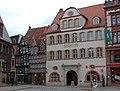 Quedlinburg Marktplatz Haus Grünhagen.JPG