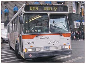 Queens Surface Corporation - Image: Queens Surface Corp bus
