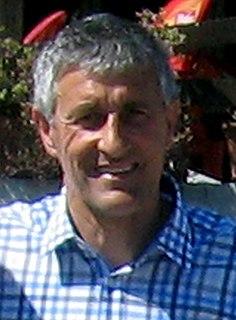 Quique Setién Spanish association football player and manager