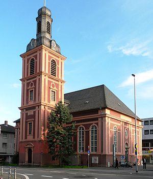 Stadtkirche in Rüsselsheim am Main