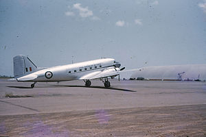RAAF Dakota at Darwin in 1961.jpg