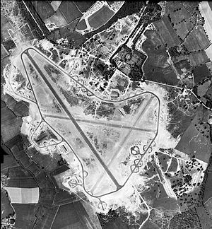 RAF Great Dunmow - Aerial photograph of Great Dunmow airfield 30 May 1944.