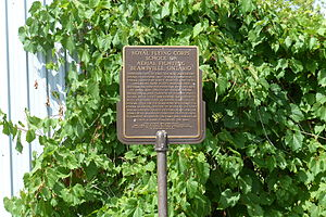 Beamsville, Ontario - Royal Flying Corps Historical Plaque