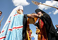 RIAN archive 129969 Christian relic arrives in Minsk.jpg