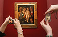 "RIAN archive 388717 One-painting exhibition of Andrea Mantegna's ""Holy Family"" in the State Pushkin Fine Arts Museum.jpg"