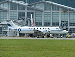ROCAF Beechcraft 1900C 1910 Taxiing at Hualien Air Force Base 20160813a.jpg