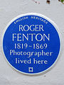 ROGER FENTON 1819-1869 Photographer lived here.jpg