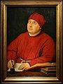 Raffaello, ritratto di tommaso inghirami detto fedra, 1510 ca. (fi, palatina) 01.jpg