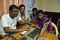 Rahimanuddin Shaik With Other Volunteers - Control Room - Wiki Conference India - CGC - Mohali 2016-08-04 5982.JPG