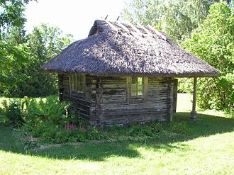 Kärde - Small house near the Kärde Manor where according to the folklore the Treaty of Cardis was signed.