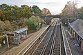 Railway Station at Hedge End and lines running SE - geograph.org.uk - 1036430.jpg
