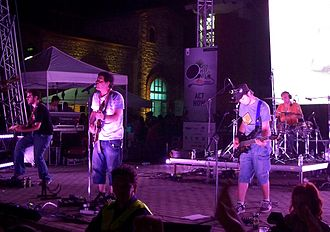 Raining Pleasure - Raining Pleasure performing live on World Environment Day at Technopolis (Gazi), Athens, Greece