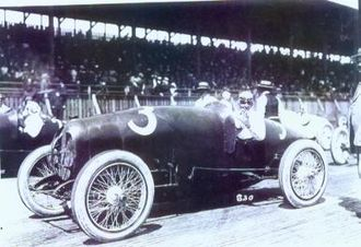 Ralph Mulford - Ralph Mulford at the Tacoma Speedway in 1922