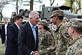 Ralph Abraham visits soldiers from the 227th Composite Supply Company.jpg