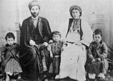 Palestinian family from Ramallah, c. 1905