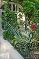 Rampe en fer forgé de la terrasse (La Hublotière) (6193530776).jpg