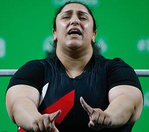 Randa Mahmoud - Mahmoud at the 2016 Paralympics