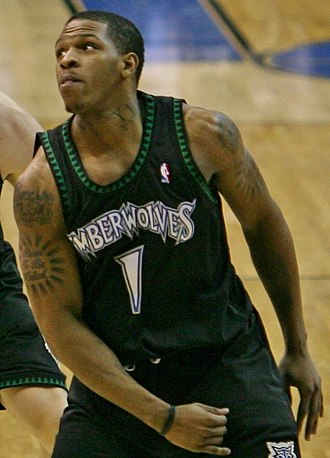 Rashad McCants - McCants playing with the Minnesota Timberwolves in 2007.