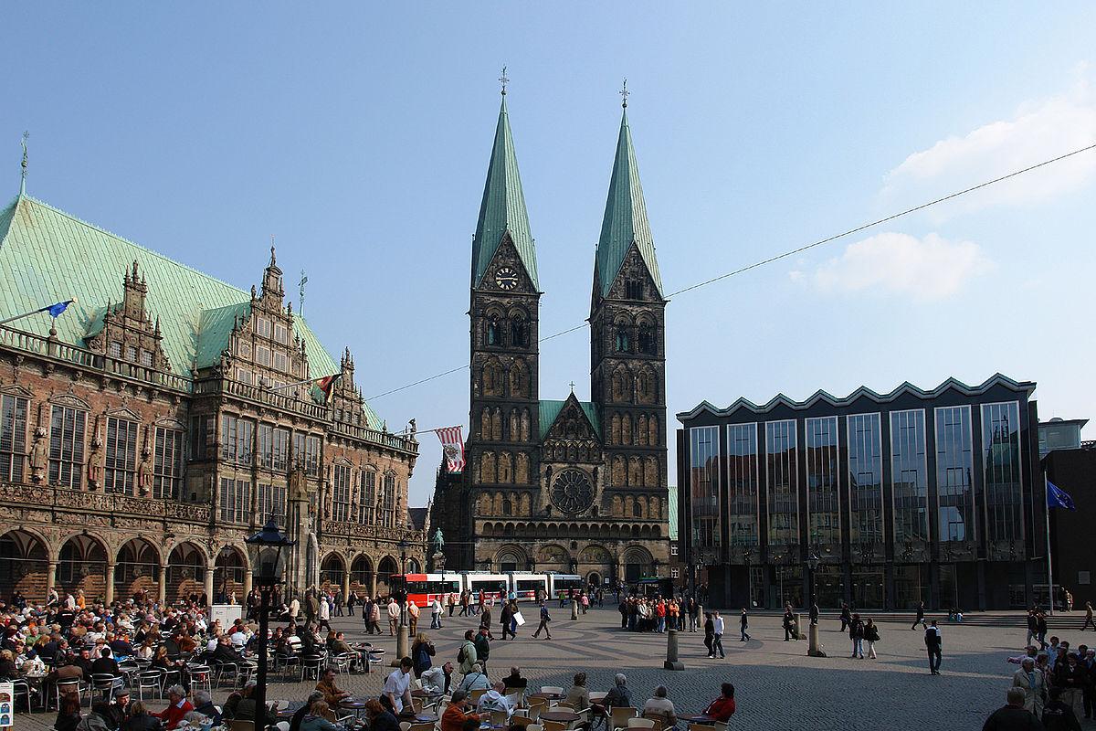 Plaza del mercado de Bremen - Wikipedia, la enciclopedia libre