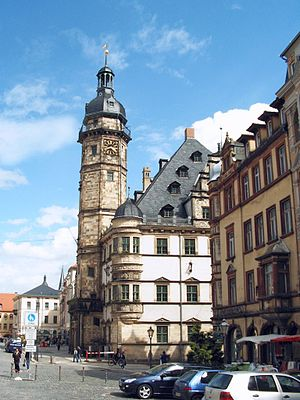 Nikolaus Gromann - Town Hall in Altenburg