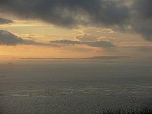 Mac Eoin Bissett family - Rathlin Island from the Mull of Kintyre