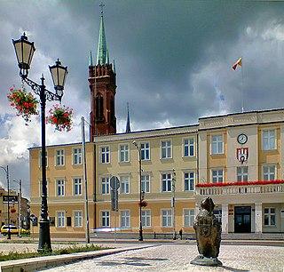 Zgierz Place in Łódź Voivodeship, Poland
