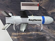 Raytheon Pyros mockup at IDEX 2017.jpg