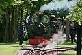 Ready for work- 'Eigiau' awaits its turn of duty at the Bredgar ^ Wormshill Railway, Kent. - panoramio.jpg