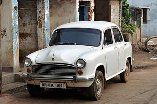 Hindustan Ambassador car model