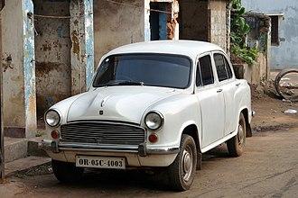 Hindustan Ambassador - Image: Real sweet Ambassador!