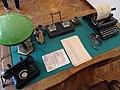 Recreation of Sugihara Consular Desk - Chiune Sugihara House.jpg