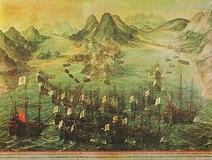 Recuperación de la Isla de San Martín, de las de Barlovento, por don Lope de Hoces.jpg