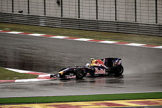 2009 Chinese Grand Prix - Sebastian Vettel took Red Bull Racing's first victory in Formula One.